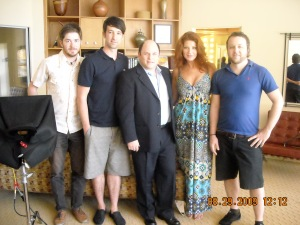 the gang with Jason Alexander